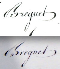 Breguet signature cursive type_2